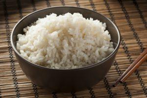 Bowl of Organic White Rice