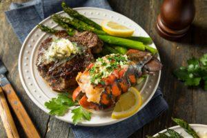 Homemade Steak and Lobster Surf n Turf