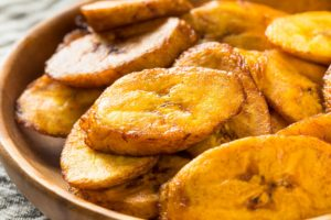 Homemade Yellow Fried Plantains